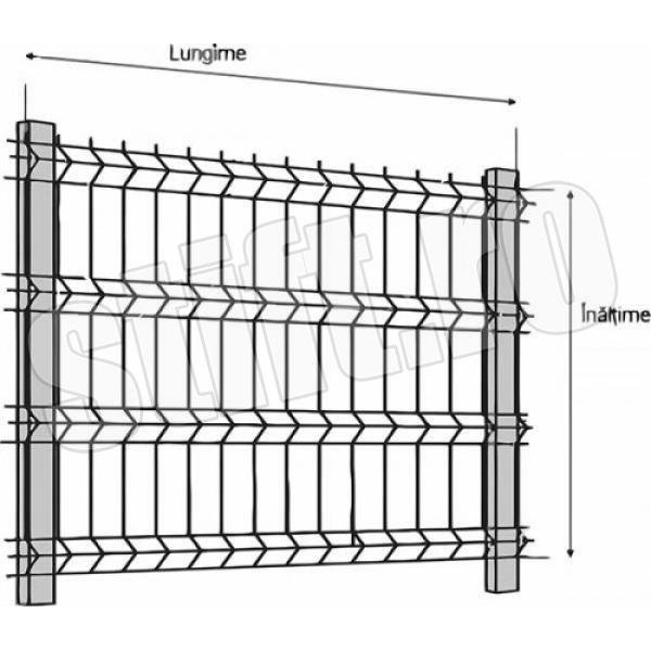 Plasa Bordurata PBZ 2.0x2.0/3.5mm