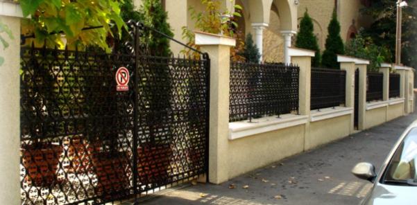 De ce sa alegi gardul din fier forjat pentru ingradirea curtii tale