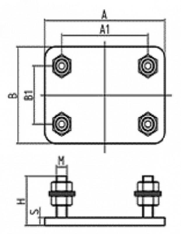 Placa inaltime ajustabila carucior 25-266