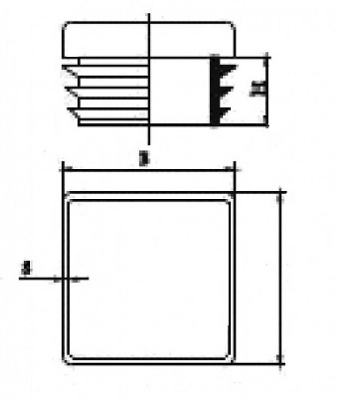 Capac plastic 25-303