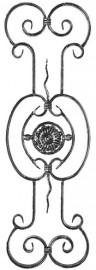 Panou balustrada 02‑310