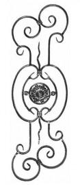 Panou balustrada 02‑311