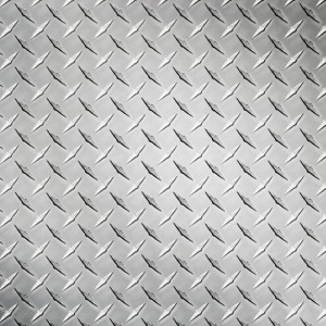 Tabla striata aluminiu Diamond , Dimensiune: 1000x2000x1.2mm