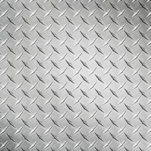 Tabla striata aluminiu Diamond , Dimensiune: 1000x2000x1.2mm
