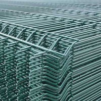 Panou bordurat zincat plastifiat verde PBZV 2.0x2.0/4.2mm