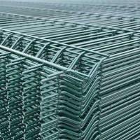 Panou bordurat zincat plastifiat verde PBZV 2.0x2.5/4.2mm